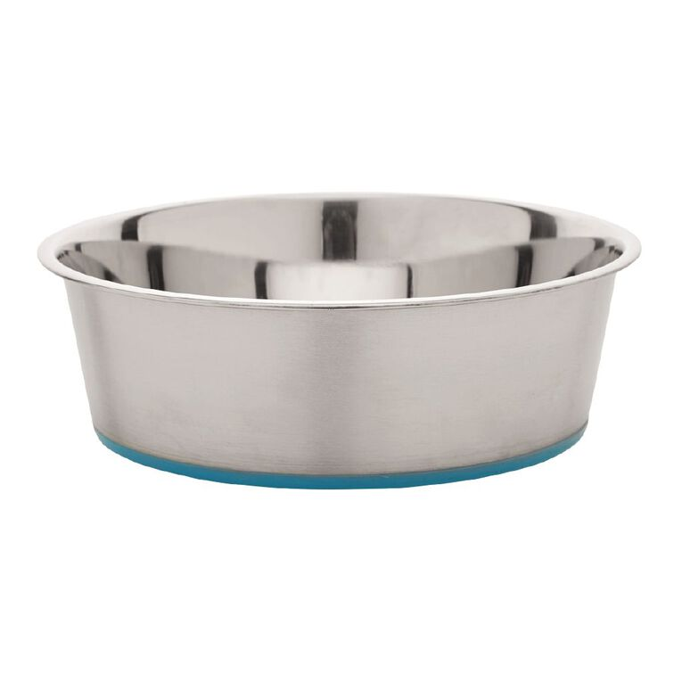 Petzone Metal Bowl With Silicone Base, , hi-res