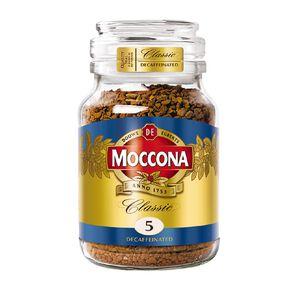 Moccona Classic Decaf Medium Roast Freeze Dried Coffee 100g