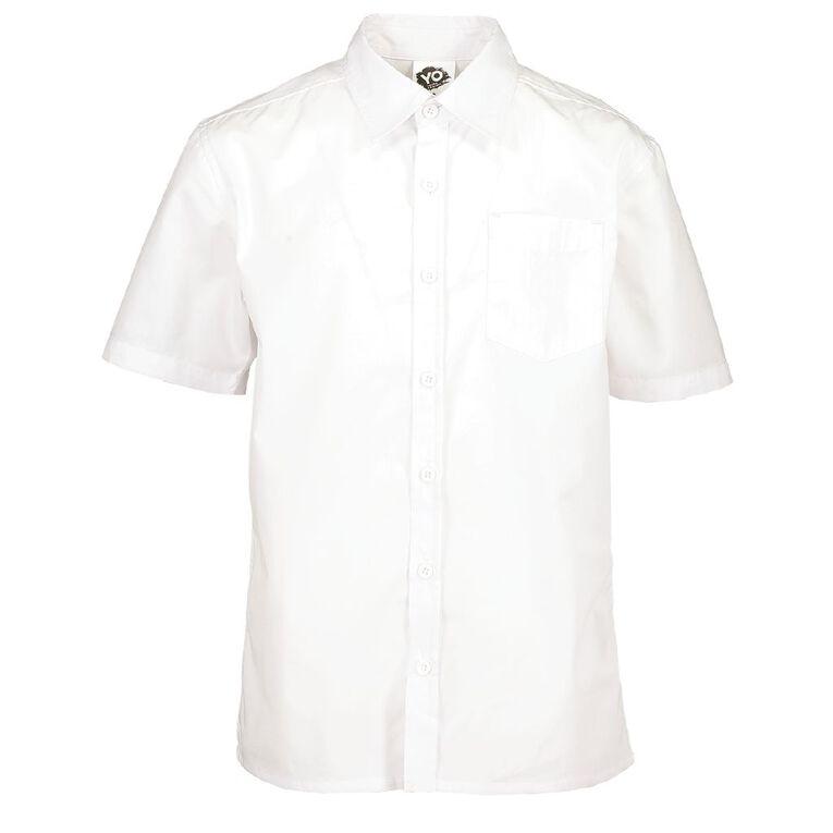 Young Original Kids' School Shirt, White, hi-res
