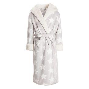 H&H Women's Winter Hooded Robe