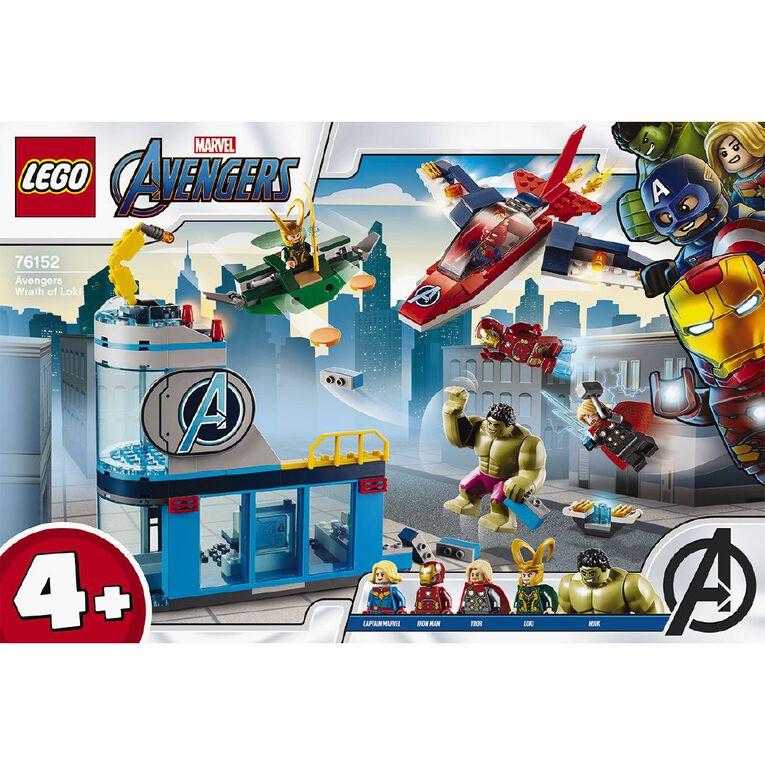 LEGO Marvel Super Heroes Avengers Wrath of Loki 76152, , hi-res