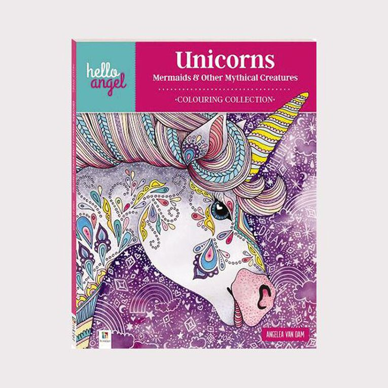 Hello Angel: Unicorns Mermaids & Other Mythical Creatures, , hi-res