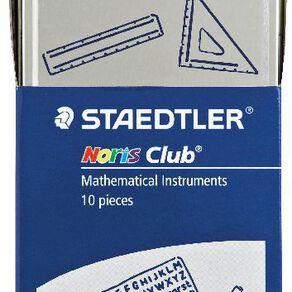 Staedtler Noris Club 10 Piece Math Set Multi-Coloured