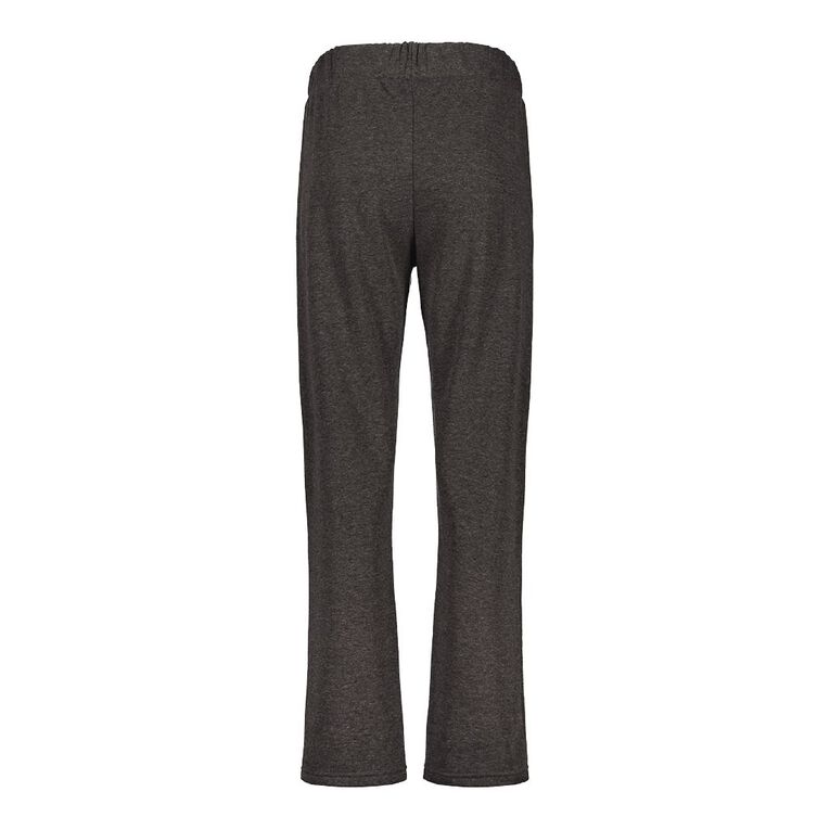 Pickaberry Women's Zip Detail Smart Pant, Charcoal, hi-res image number null