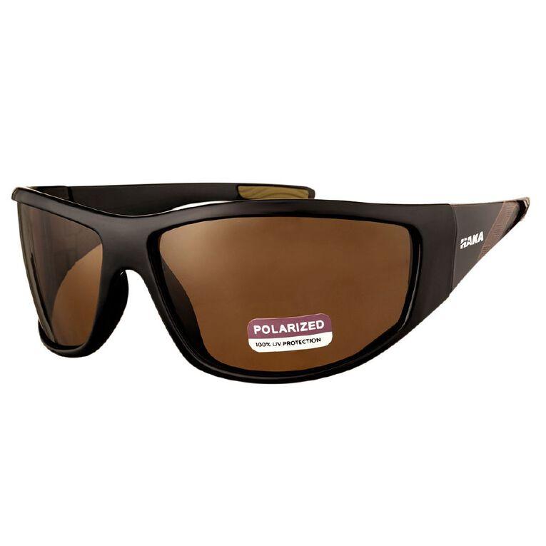 Men's Active Wrap Sunglasses, Black, hi-res