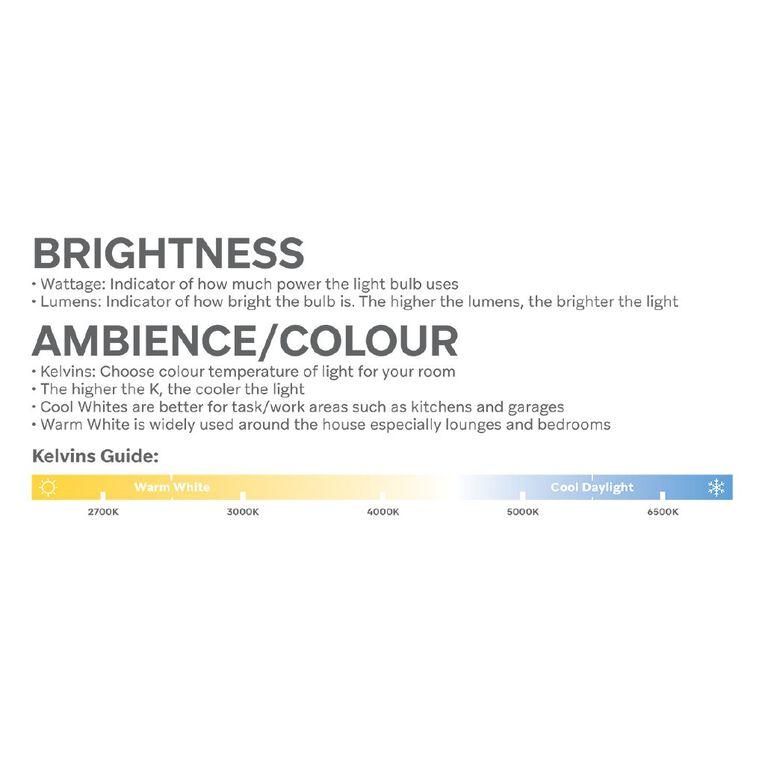 Edapt Halogena B22 Fancy Light Bulb 28w Clear, , hi-res