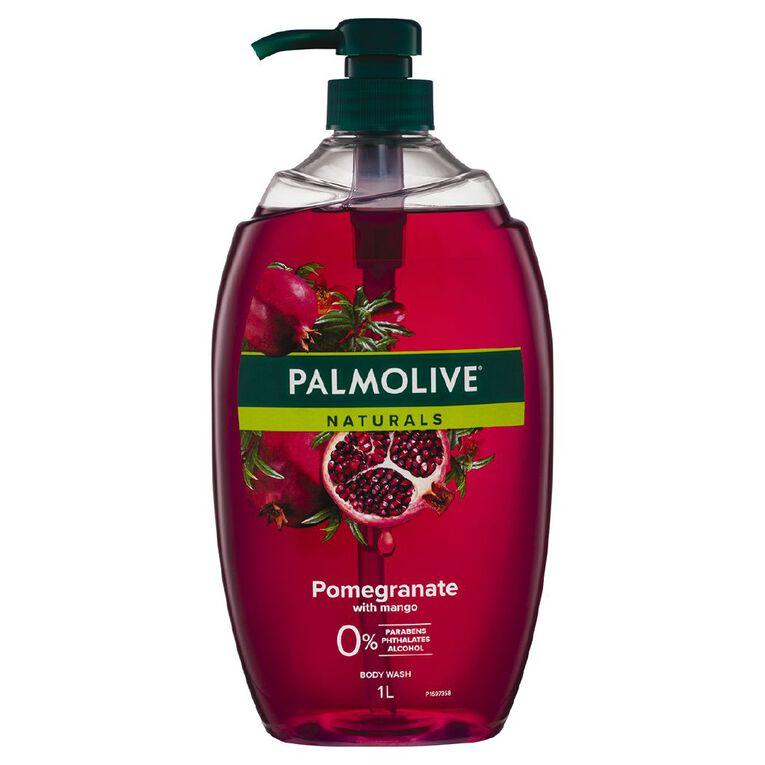 Palmolive Naturals Pomegranate & Mango Body Wash 1L, , hi-res