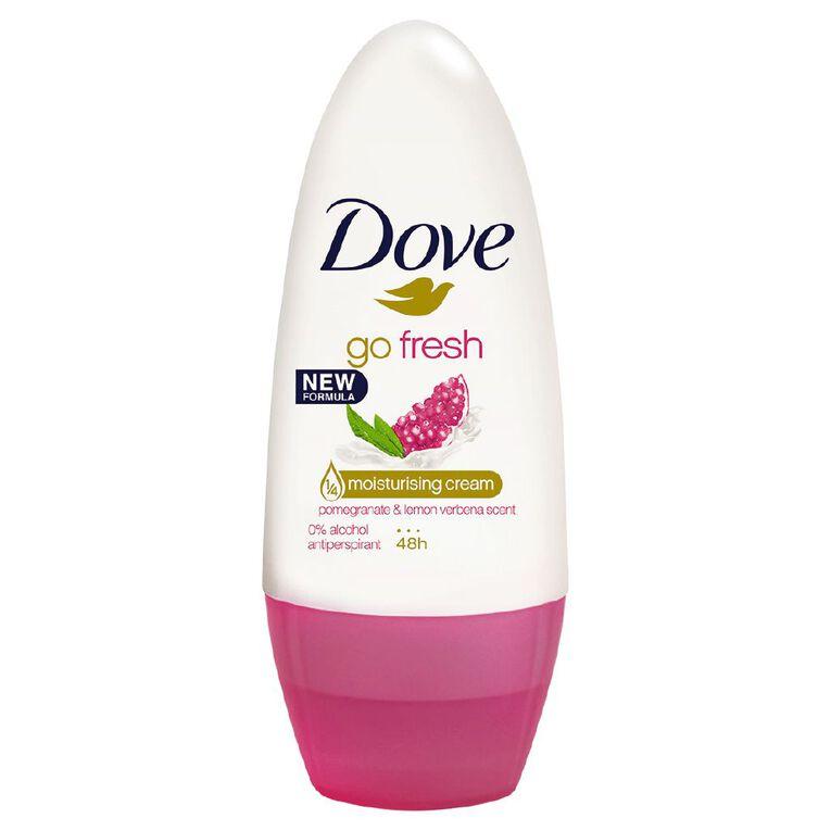 Dove Women's Roll On Pomegranate & Lime Verbena 50ml, , hi-res