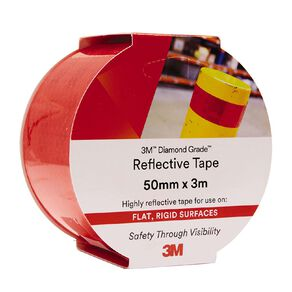 3M 983-72 Reflective Tape 50mm X 3m Red