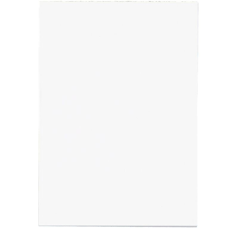 WS Unruled Pad 50 Sheets White A6, , hi-res