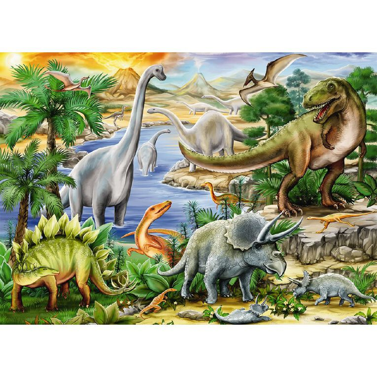 Ravensburger Prehistoric Life Puzzle 60 Piece, , hi-res