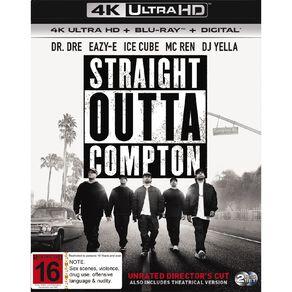Straight Outta Compton 4K Blu-ray 2Disc