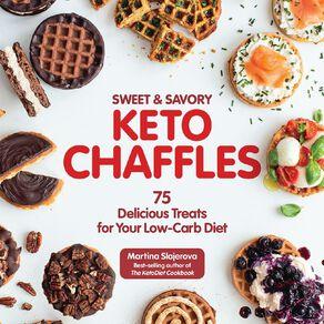 Sweet & Savory Keto Chaffles by Martina Slajerova