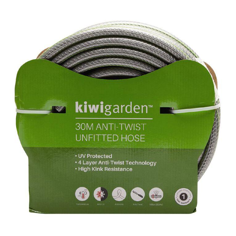 Kiwi Garden Anti-Twist Unfitted Hose Green 30m, , hi-res