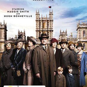 Downton Abbey Season 5 DVD 3Disc