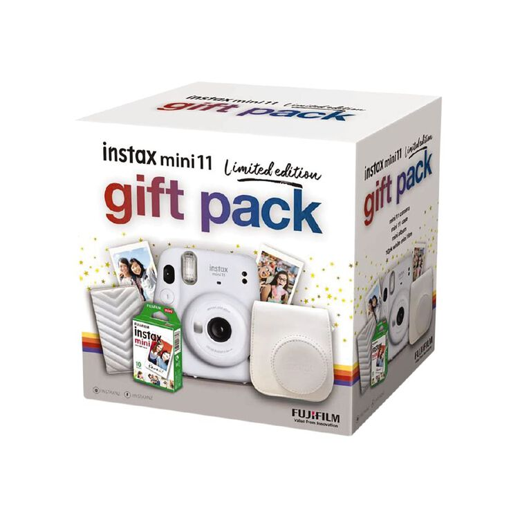 Fujifilm Instax Mini Gift Pack Ice White, , hi-res image number null