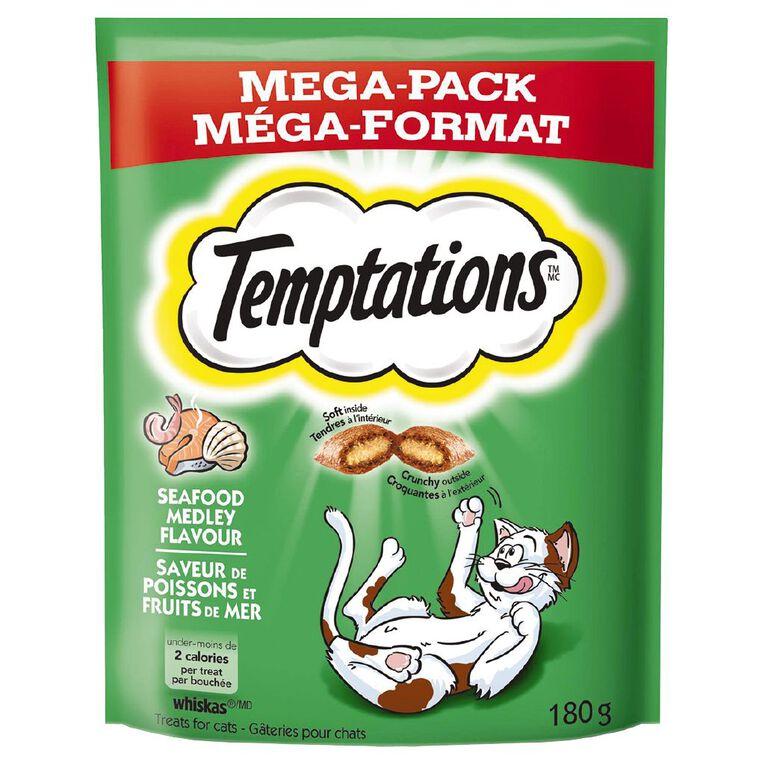 Temptations Cat Treats Seafood Medley Mega Pack 180g Bag, , hi-res
