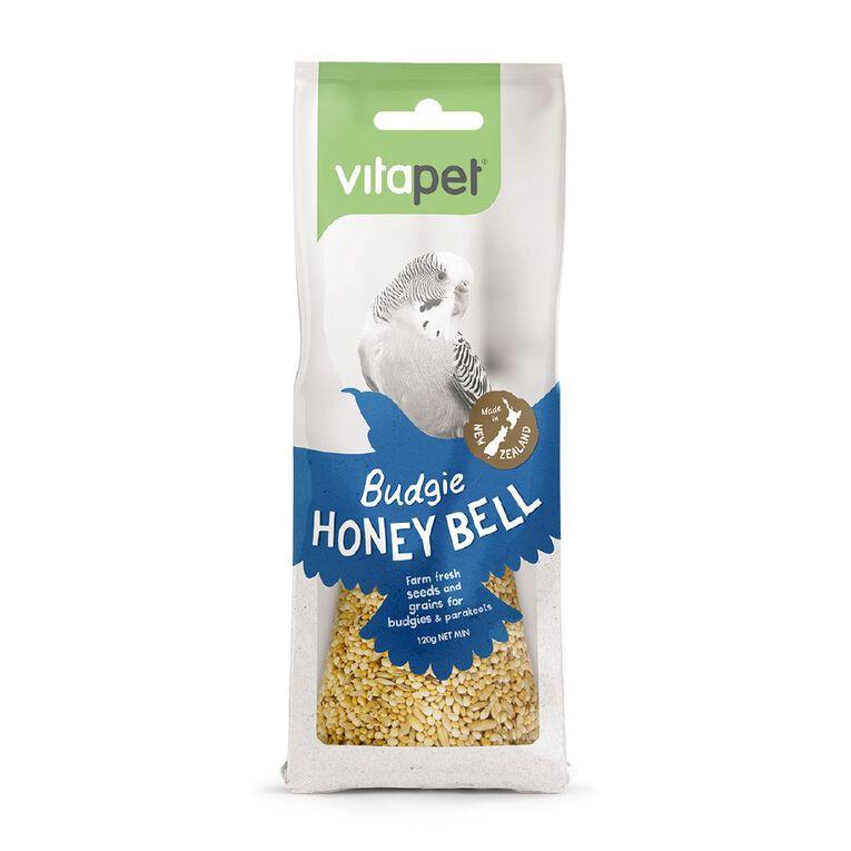 Vitapet Honeybell Budgie, , hi-res