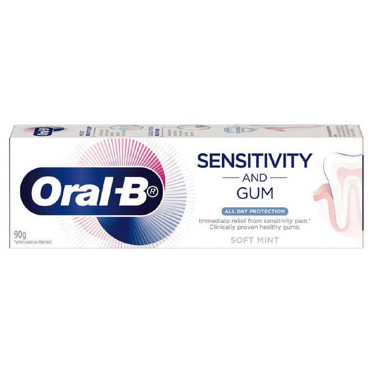 Oral-B Sensitivity + Gum All Day Protection Toothpaste 90g, , hi-res