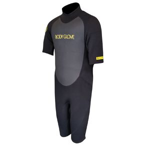 Body Glove Youths Spring Suit Black/Yellow Size 10