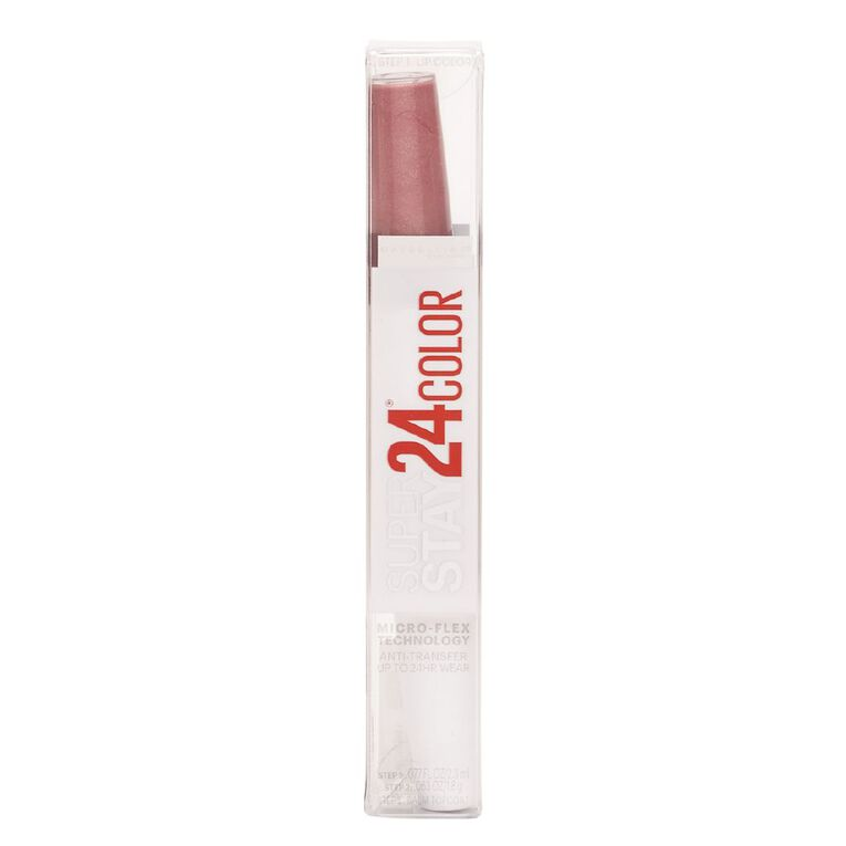 Maybelline Super Stay Lip Colour Carded timeless Rose, , hi-res