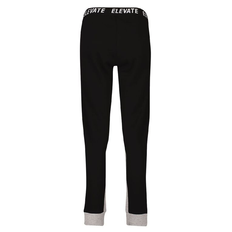 Active Intent Women's Slim Sport Trackpants, Black, hi-res