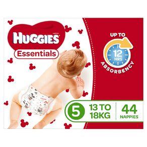 Huggies Essential Nappy Walker 44 pack