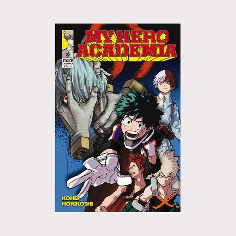 My Hero Academia Vol #3 by Kohei Horikoshi, , hi-res image number null