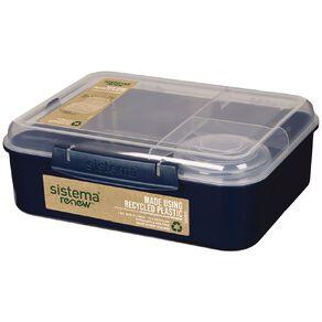 Sistema Bento Lunch Renew Assorted 1.65L
