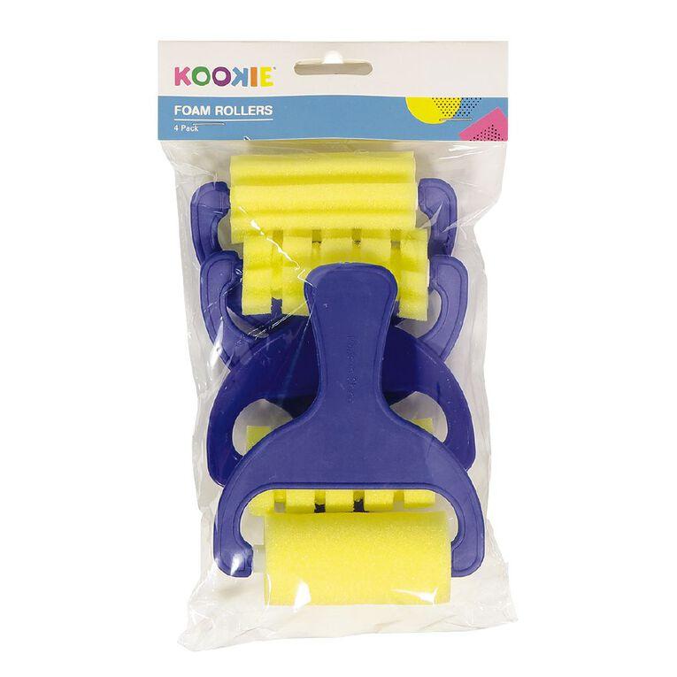 Kookie Foam Rollers 4pk, , hi-res