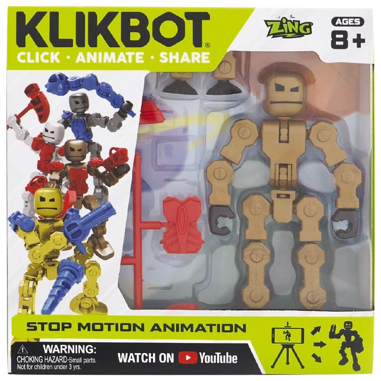 Zing Klikbot Villain Series Single Assorted, , hi-res