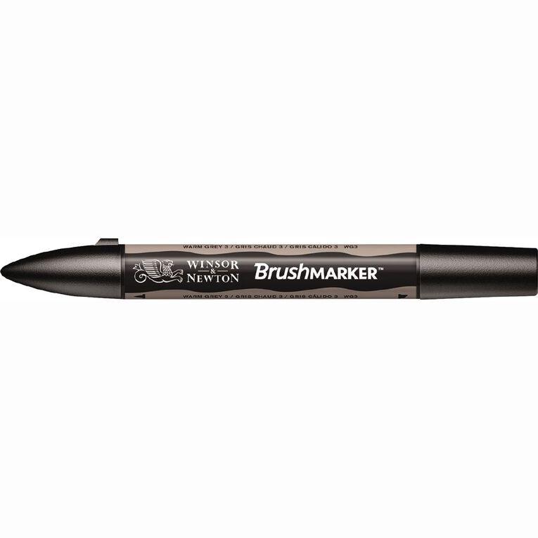 Winsor & Newton Brushmarker Single Warm Grey 3, , hi-res