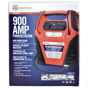Autohaus Powerstation 900 Amp 17Ah With Compressor