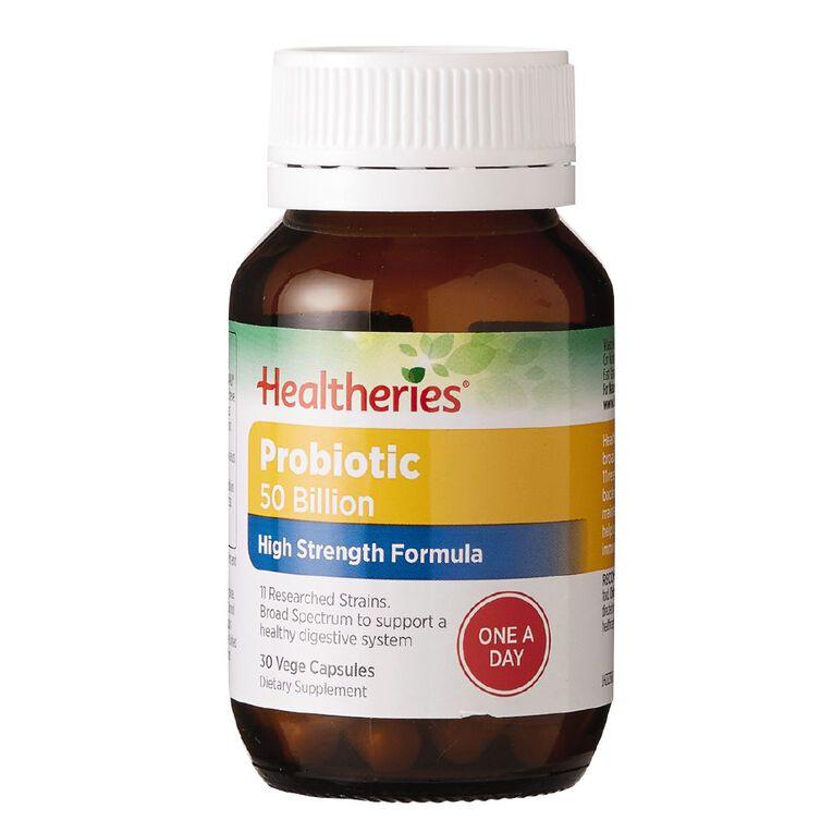 Healtheries Probiotica 50 Billion 30s, , hi-res