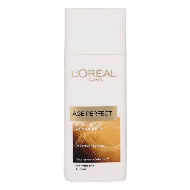 L'Oreal Paris Age Perfect Cleanser 200ml, , hi-res