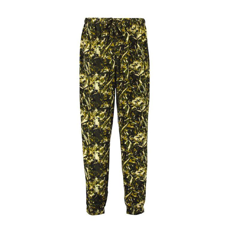 H&H Men's Fleece Pants, Khaki, hi-res