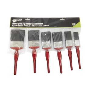 Haydn Synthetic Paint Brush 6 Pack