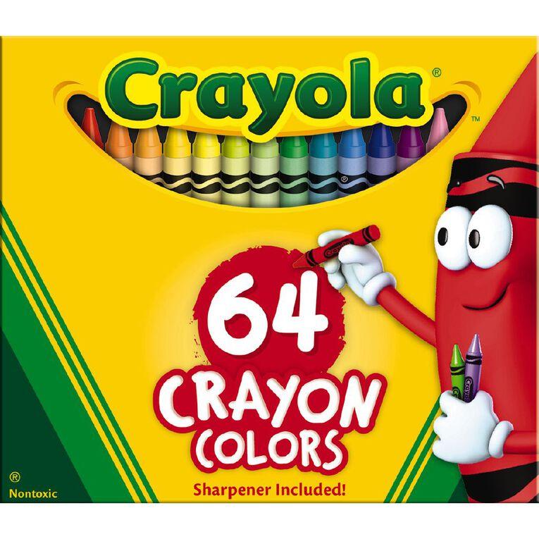 Crayola Crayons 64 Pack, , hi-res