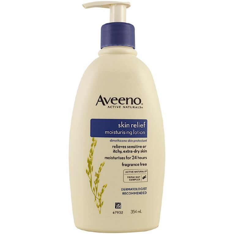 Aveeno Skin Relief Lotion Fragrance-Free 354ml, , hi-res