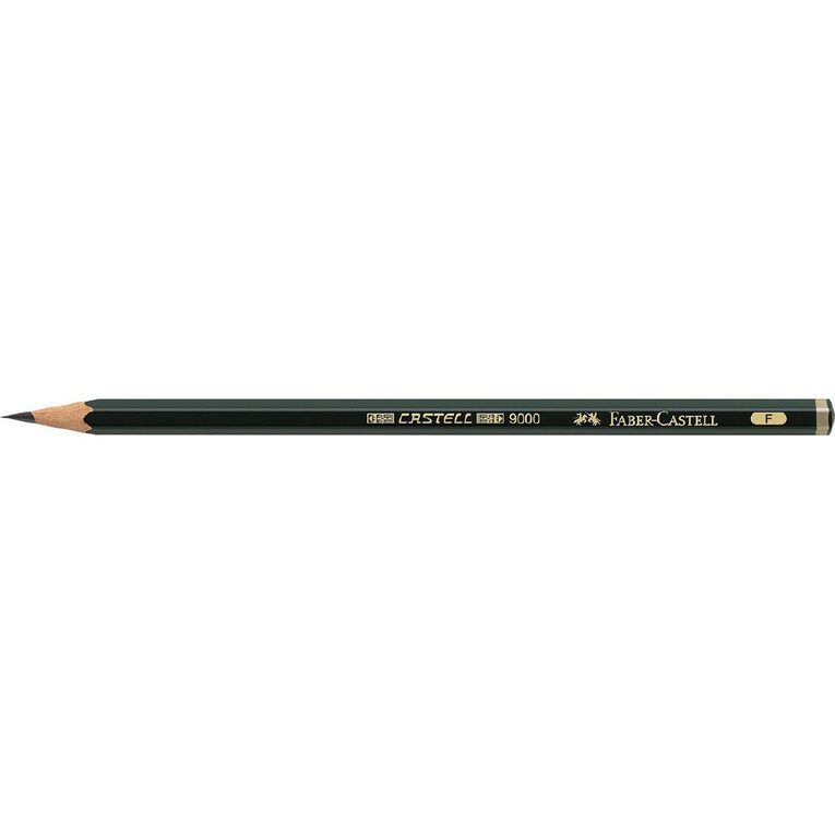 Faber-Castell Artist Pencil 9000 F Black, , hi-res