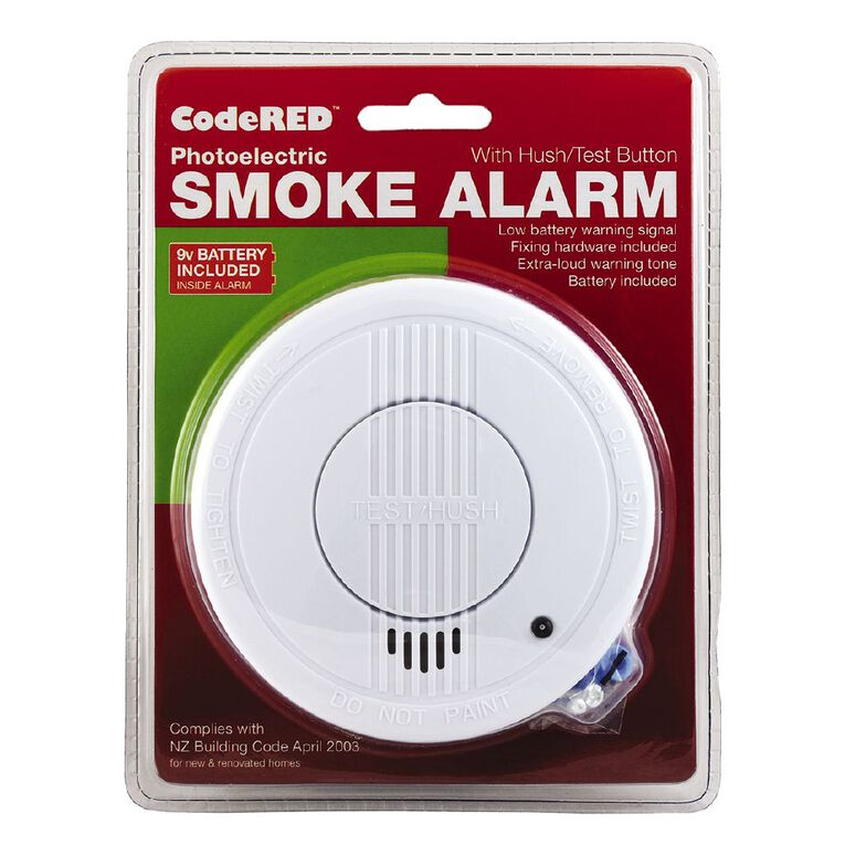 CodeRED Photoelectric Smoke Alarm, , hi-res