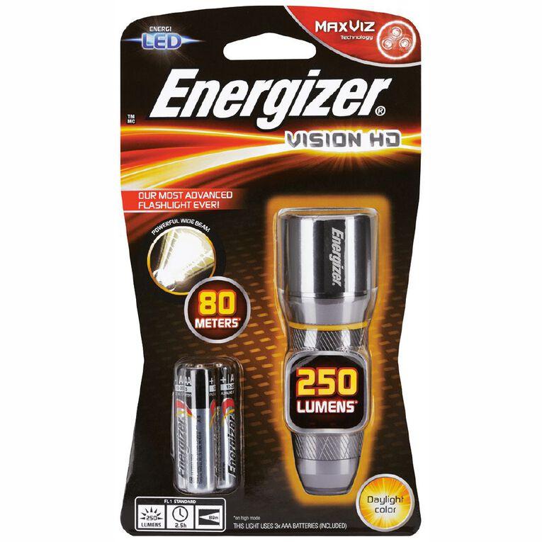 Energizer Vision HD Metal Torch 250 Lumens, , hi-res