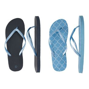 H&H Women's Jandals 2 Pack