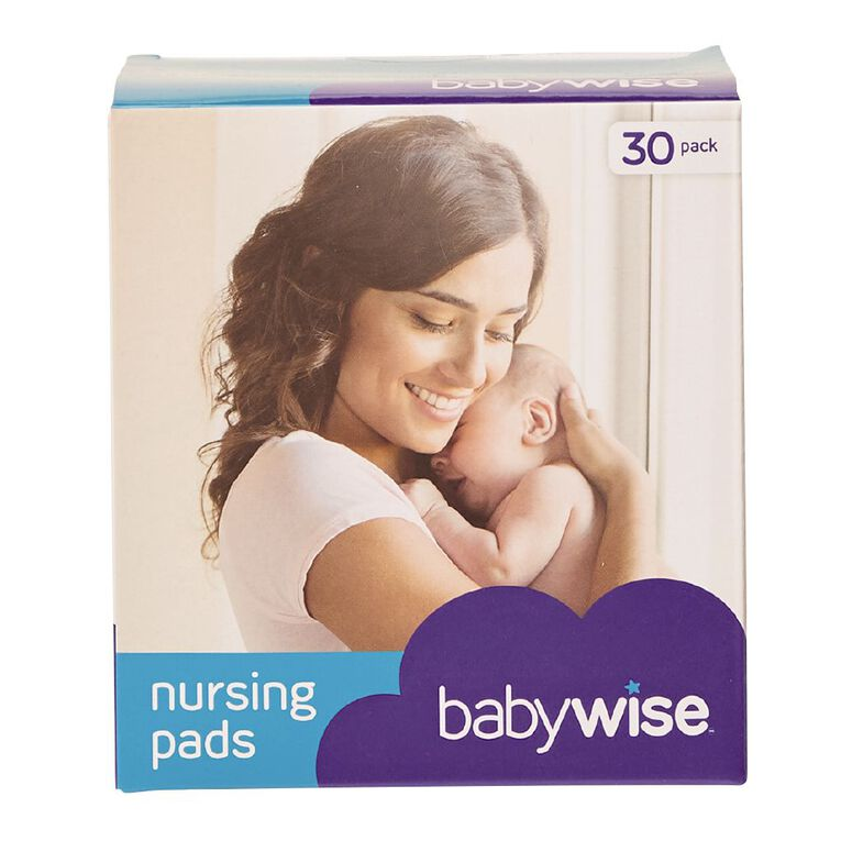 Babywise Nursing Pads 30 Pack, , hi-res