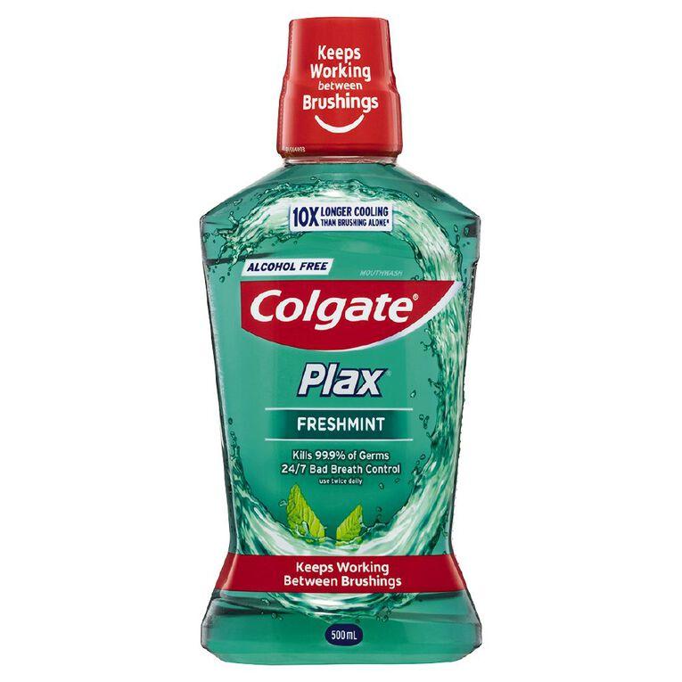 Colgate Plax Mouthwash Freshmint 500ml, , hi-res