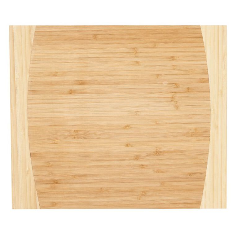 Living & Co Chopping Board Bamboo 33cm, , hi-res image number null