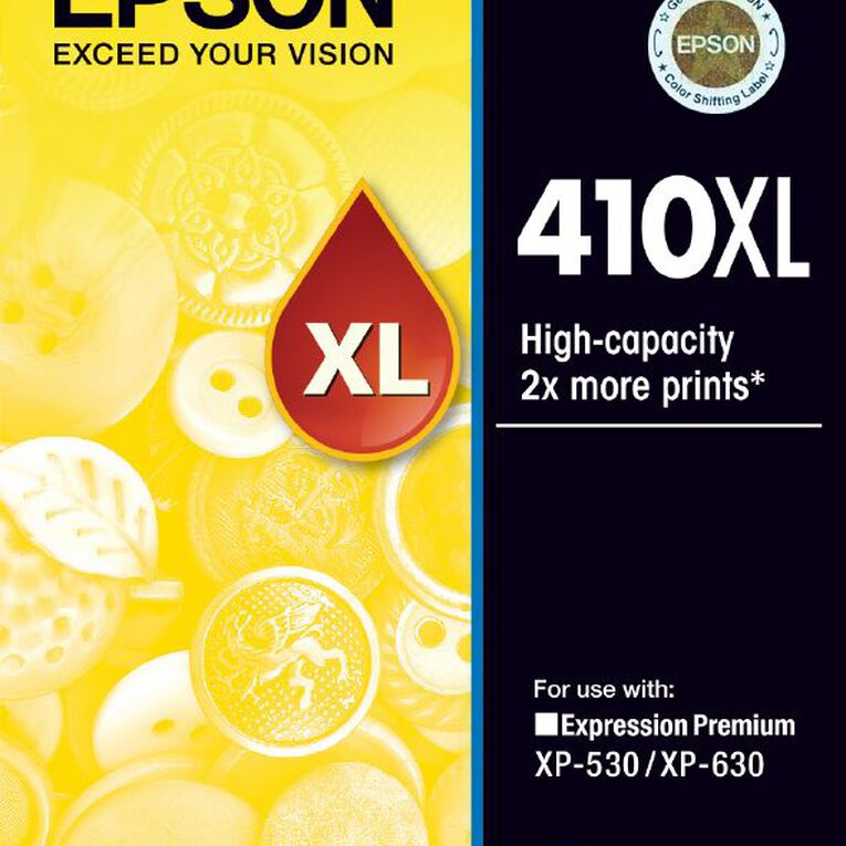 Epson Ink 410XL Yellow (650 Pages), , hi-res