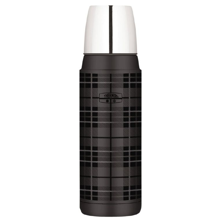 Thermos Stainless Steel Vacuum Insulated Flask Grey 470ml, , hi-res