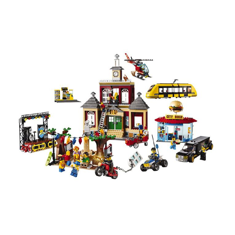 LEGO City Main Square 60271, , hi-res image number null