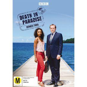 Death In Paradise Season 2 DVD 3Disc